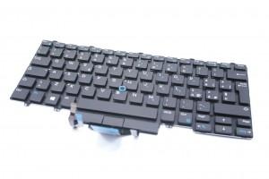 DELL Latitude 7290 7390 Tastatur backlit BELGIAN Keyboard 007XH0