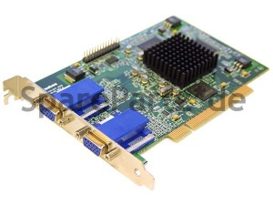 DELL PCI Grafikkarte 2x VGA Dual VGA 32MB Matrox G450 0N753