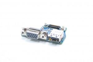 Dell Latitude E6440 VGA USB Port IO Circuit Board 28X5F