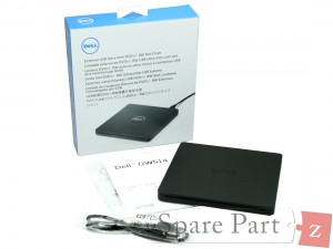 DELL Externes USB Ultra Slim DVD+/-RW Laufwerk Slot-Load 2YKY3