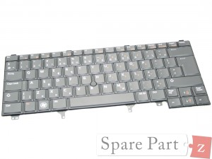 DELL NL Tastatur Keyboard NON-BACKLIT Latitude E6320 E6330 K5X86