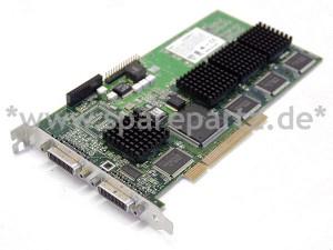 MATROX G200 32MB 4x VGA 32MB PCI Grafikkarte QUADP-PL/7