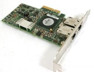 DELL 5709 Dual Port Gigabit PCI-E Adapter Network Netzwerkkarte G218C