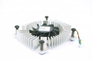 DELL Precision T5500 Chipset Heatsink Lüfter Fan G422G