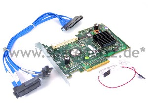 DELL PERC5/IR PCI-E SAS Controller inkl. Kabel 0GU186