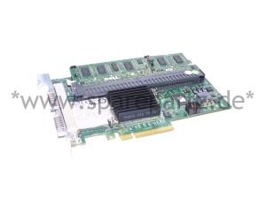 DELL PERC6/E SAS HBA Controller 256MB PCI-E 2X4 J155F