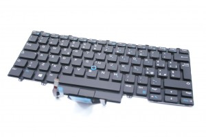 DELL Latitude 14 3379 3490 Keyboard UK backlit J8YTG