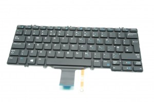 DELL Latitude E7280 E5280 Tastatur UK Keyboard Backlit JF8W7