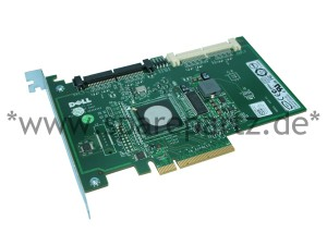 DELL PERC6iR SAS PCI-E x8 RAID Controller JW063
