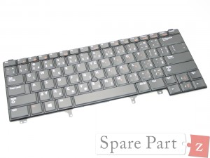 DELL CZECH Tastatur Keyboard NON-BACKLIT Latitude E6320 E6330 K5X86