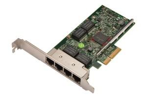 DELL 5719 QUAD Port Gigabit PCI-E Adapter Network Netzwerkkarte KH08P