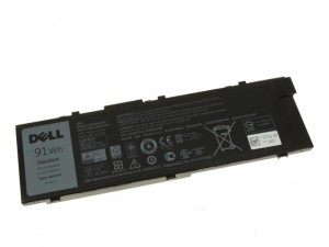 Original DELL Precision 15 5510 17 7710 91Wh Battery Akku MFKVP