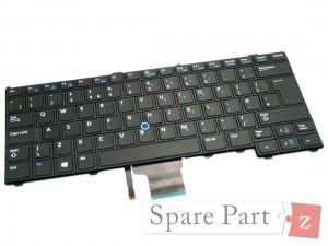 DELL Latitude E7270 E5270 DE Deutsche Tastatur Backlit Keyboard N5C9F