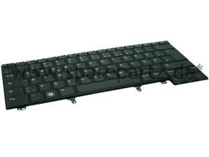 DELL Tastatur Keyboard DE Latitude E-Serie non-backlit NMH6R