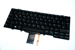 DELL Latitude 7280 5280 7380 Keyboard Tastatur FRENCH NMPT1