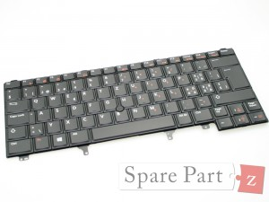 DELL Latitude Tastatur Keyboard SWI/GER NWX5V