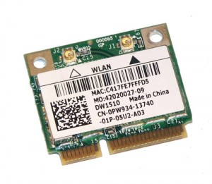 DELL Mini-PCIe WiFi WLAN Card Karte a/b/g/n PW934