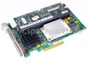 DELL PERC 4E/DC PCI-E Controller Card mit 128MB Cache TD977