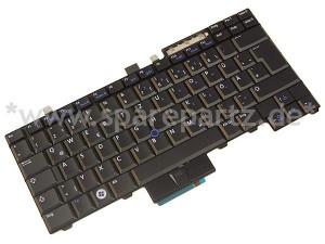 DELL Tastatur Keyboard DE Latitude Precision WP242