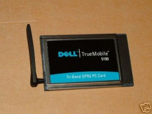 DELL Truemobile 5100 Tri-Band GPRS PCMCIA Card