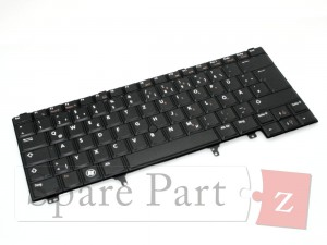 DELL NL Tastatur Keyboard BACKLIT Latitude E6320 E6330