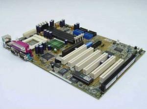 Asus Motherboard Mainboard CUV4X Socket 370 ref.