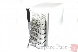 Promise Pegasus R6 ohne HDD Laufwerke incl. Caddies