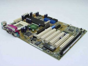 Asus Motherboard Mainboard CUBX Socket 370 ref.