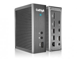 CalDigit TS2 Thunderbolt 2 Dockingstation Inkl. 1m Thunderbolt Kabel