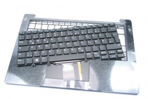 Original Dell Latitude 7380 Keyboard Kit from US to DE Layout