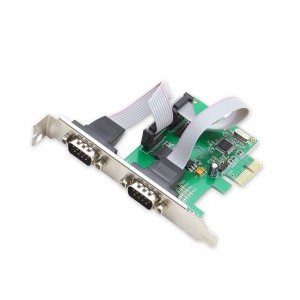 Dell OptiPlex SFF 2x 9-polig COM Port card