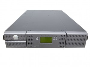 DELL PowerVault TL2000 Tape Autoloader Bandlaufwerk 2x LTO-6 SAS