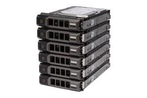 """6x DELL Enterprise Festplatte 6x 4TB 7.2k SAS 3.5"""" 12G 512e"""