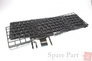 Original DELL Precision Latitude Tastatur Keyboard DE-Layout backlit Upgrade-Kit
