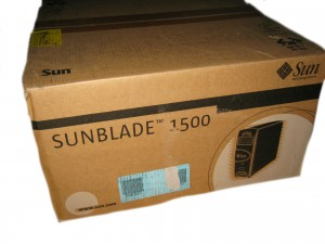 Sun Blade 1500 SILVER Workstation Complete NEUWARE OVP
