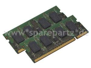 4GB 4096MB DDR2 PC667 RAM SO-DIMM (2x 2GB)