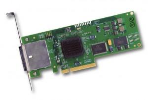 LSI SAS 3Gb/s PCI HBA Controller Card Karte 3801E