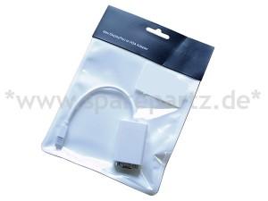 Adapter Mini Display Port zu VGA weiß 15cm NEU