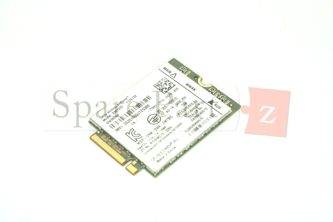 DELL WWAN Karte Card DW5811E LTE HSPA+ 4G 1DPXG