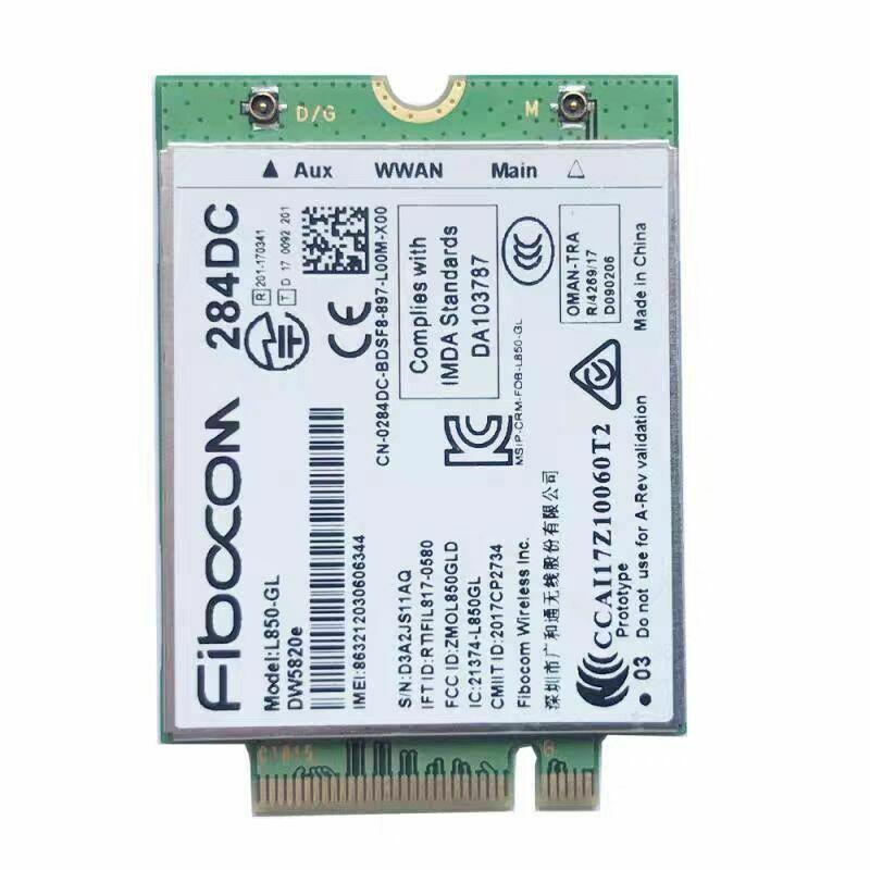 DELL DW5820E  LTE Card Modem Mini-PCI Express Card 284DC