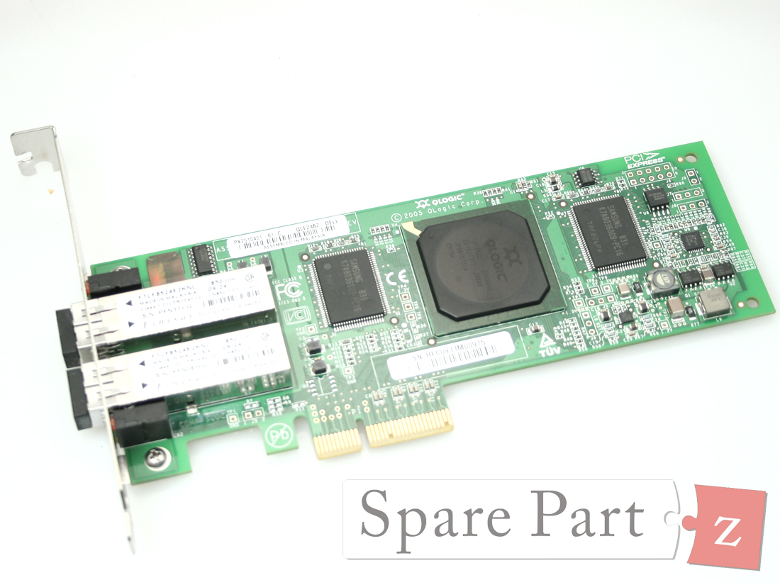 DELL Qlogic QLE2742 32GB Dual Port SFP+ Low Profile Host Bus Adapter 5H4YH