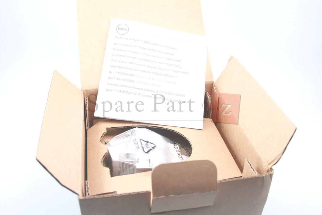 Dell Replacement Lamp Dell S320 and S320wi Projectors 665C4