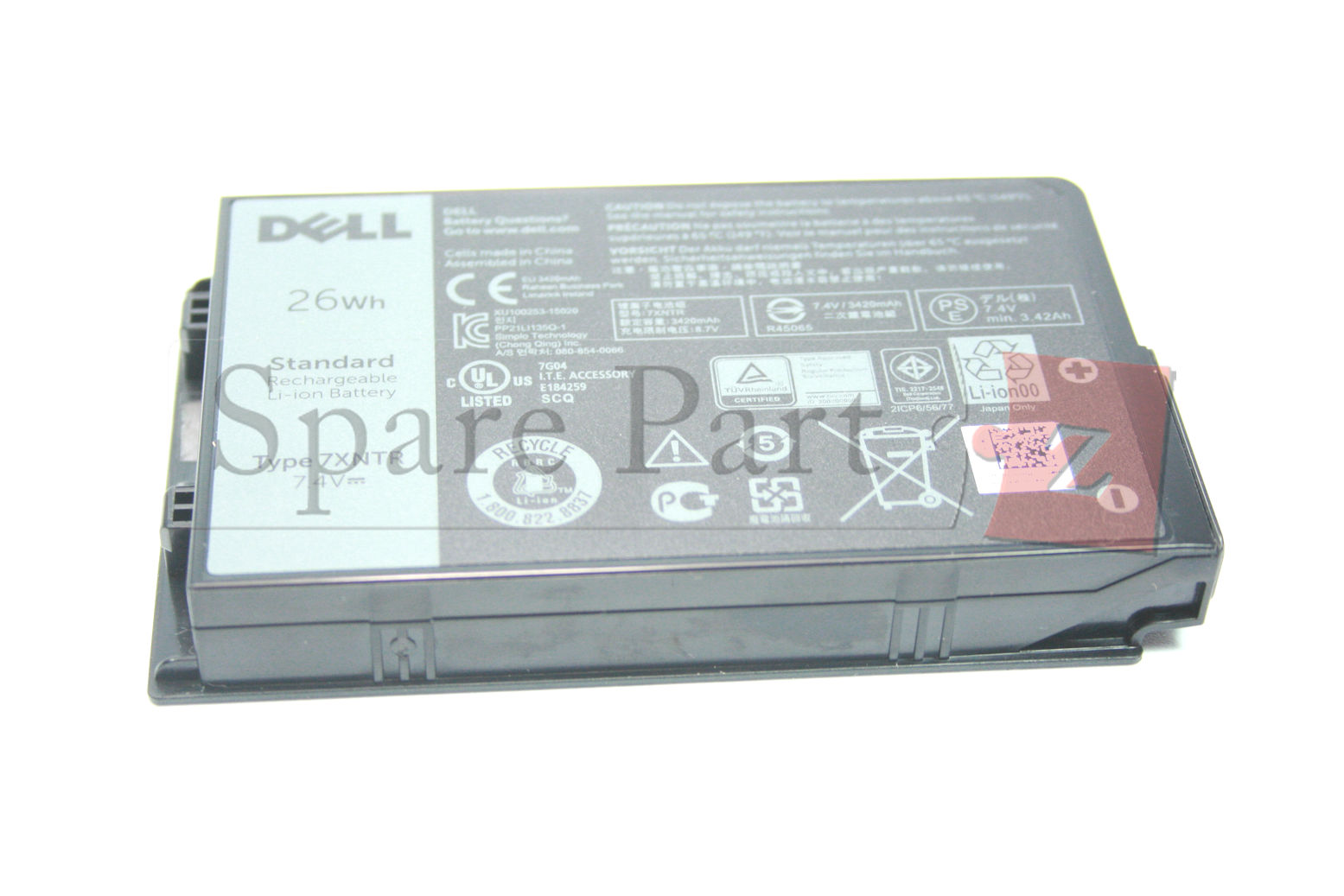 Dell Latitude 12 Rugged 7202 7212 Tablet 26Wh Battery Akku 7XNTR