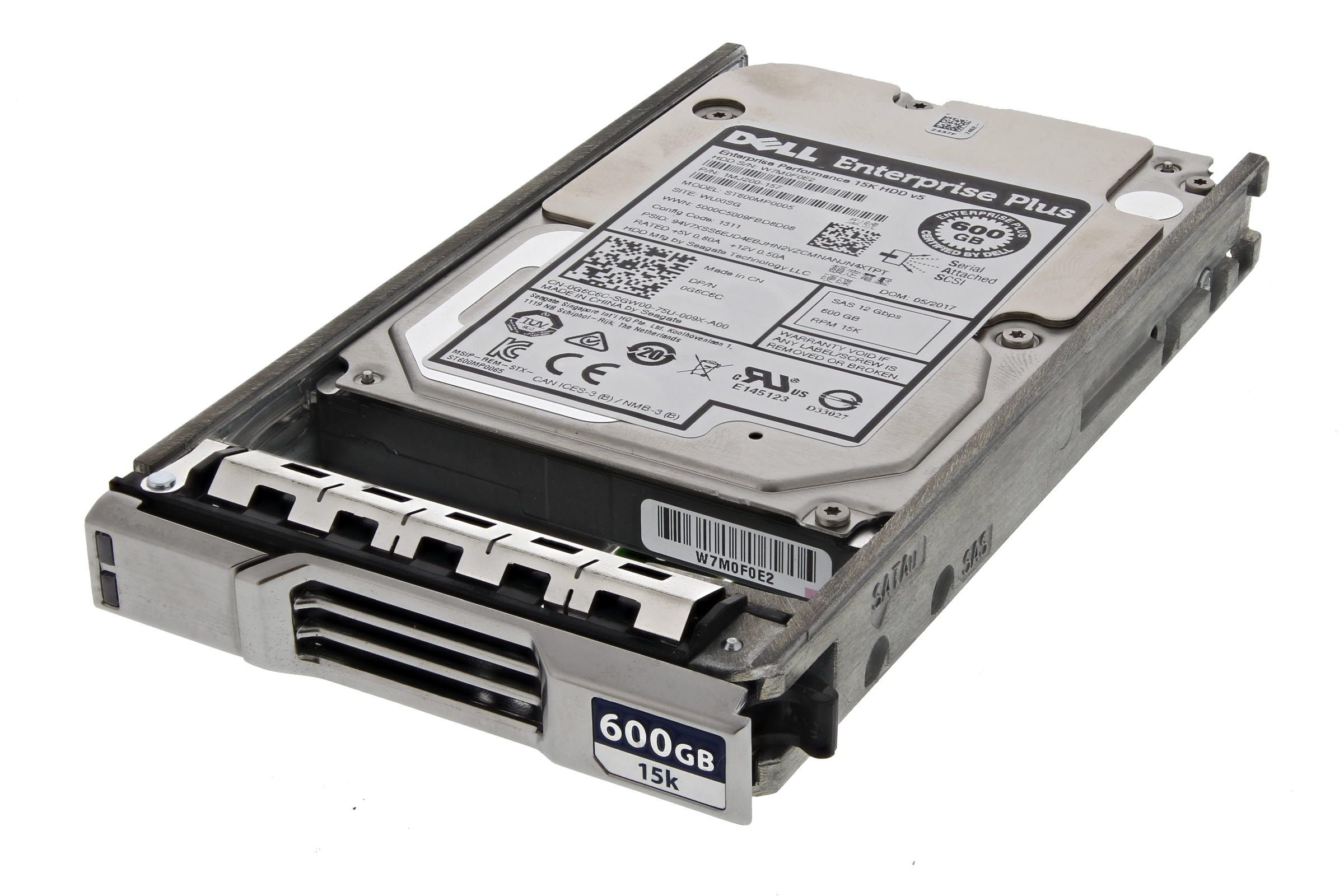 "DELL 2,5"" HDD 600GB 15K 12G SAS EqualLogic DYN7N"