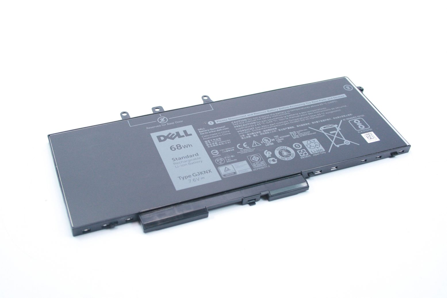 DELL Latitude Precision 5490 5480 68Wh Akku Battery Batterie GJKNX