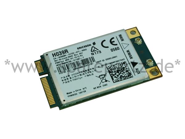 DELL UMTS WWAN 5540 Mobile Broadband Ericsson Card