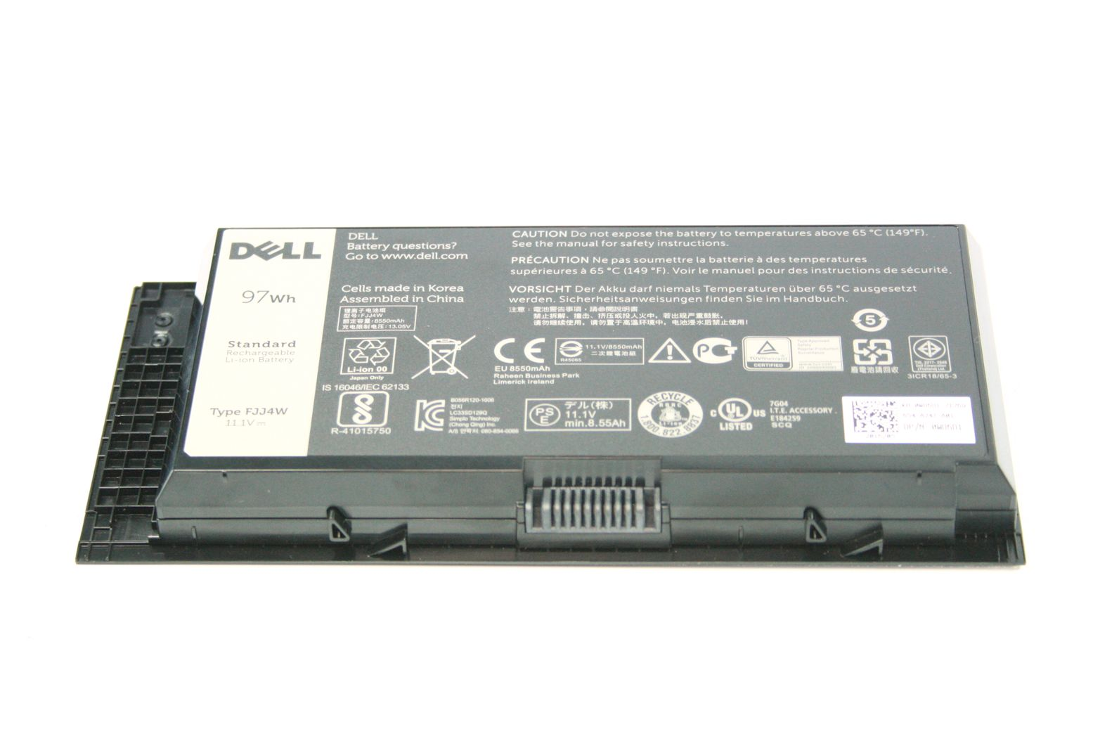 Original DELL Precision M4600 M6600 M6700 LI ION 9 Zellen Akku Battery HPNYM