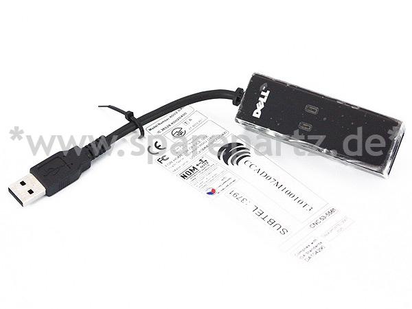 DELL externes 56k Fax-Modem / Daten-Modem USB 0NW147