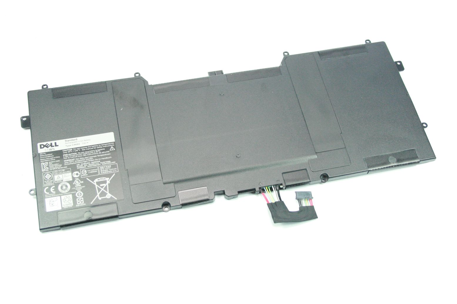 DELL XPS 12 13 55Wh 6 Zellen Akku Battery Batterie PKH18