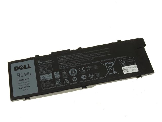 Original DELL Precision 15 5520 17 7720 91Wh Battery Akku RDYCT